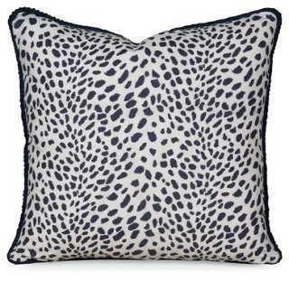 Leopard Path Pillow - 20 x 20 - One Kings Lane