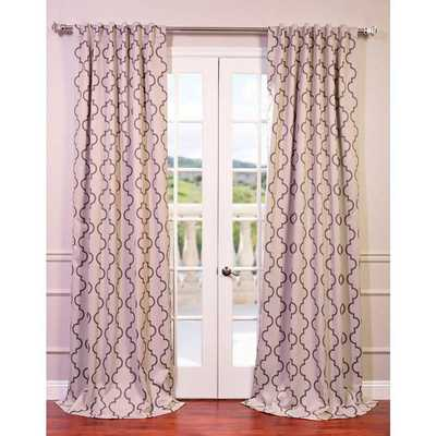 EFF Seville Print Blackout Curtain Panel - Overstock