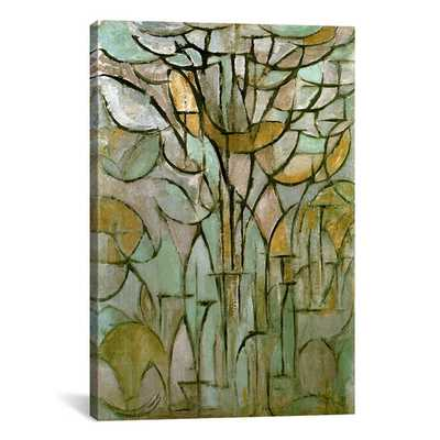 'Tree, 1912' by Piet Mondrian Graphic Art on Wrapped Canvas - AllModern