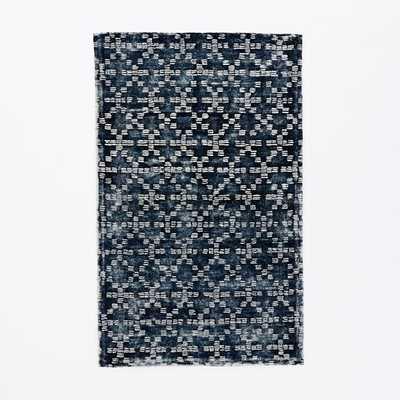Geo Tufted Wool Rug - 6' x 9' - West Elm