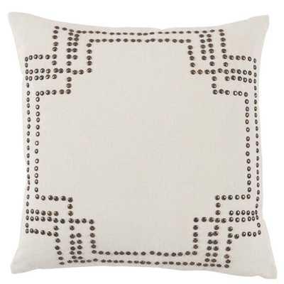 Lacefield Designs Nailhead Antique Pillow - Candelabra