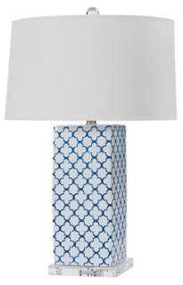 Quatrefoil Lamp - One Kings Lane