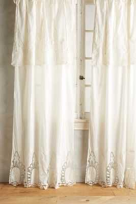 "Victorian Lace Curtain - 63"" x 50"" - Anthropologie"