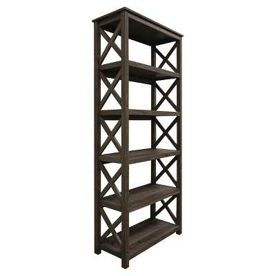"Thresholdâ""¢ 5 Shelf X Bookcase - Target"