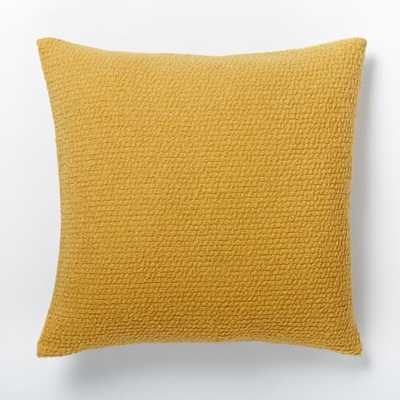 """Cozy Boucle Pillow Cover - Horseradish - 18""""sq. - Insert sold separately - West Elm"""