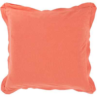 """Simple Sophistication Cotton Throw Pillow - 18"""" - Polyester Fill - Wayfair"""