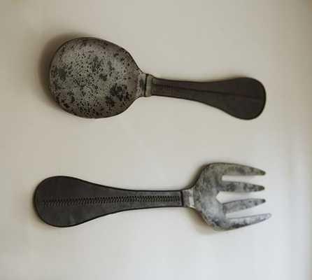 Metal Spoon & Fork - Pottery Barn