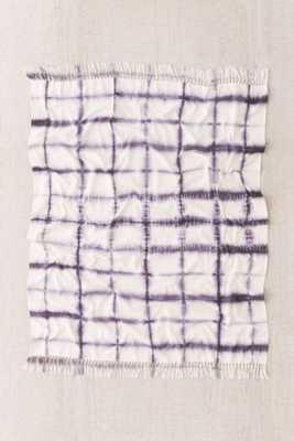 4040 Locust Accordion Indigo Dye Throw Blanket - Urban Outfitters