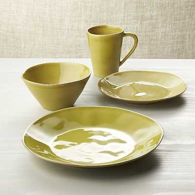 Marin Green 4-Piece Place Setting - Crate and Barrel