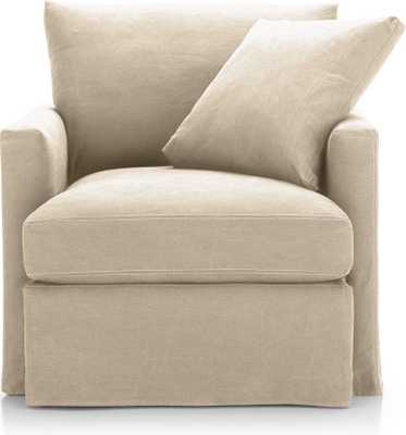 Lounge II Slipcovered Chair - Crate and Barrel