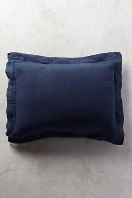 Soft-Washed Linen Shams - Anthropologie