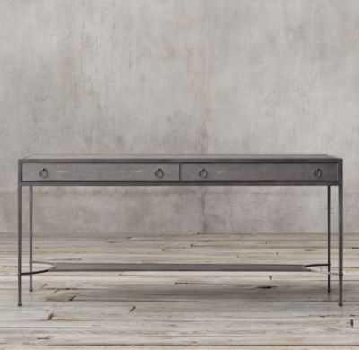 VILLETTE SHAGREEN CONSOLE TABLE - RH