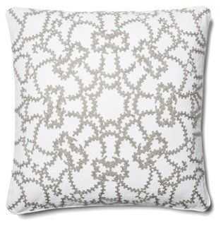 Scroll Medallion Pillow - One Kings Lane