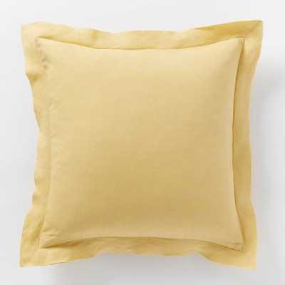 Belgian Linen Pillow Cover - 18x18 - Insert Sold Separately - West Elm