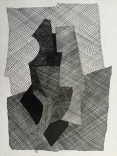 Abstract Pen Drawing by R. Stokes - One Kings Lane