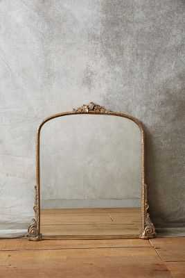 Gleaming Primrose Mirror, Gold, Extra Small - Anthropologie