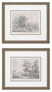 "Landscapes Diptych - 28"" x 32"" - Framed - Set of 2 - One Kings Lane"