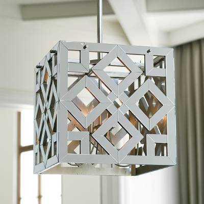 Mirrored Chandelier - Frontgate
