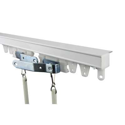 Commercial Ceiling Curtain Track Kit - Wayfair