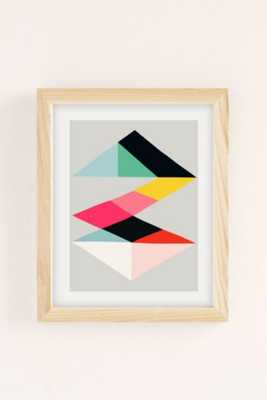 """Inaluxe Voyage Art Print - 18"""" x 24"""" - Framed - Urban Outfitters"""