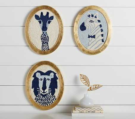 "Emily & Meritt Framed Animal Art - GIRAFFE - 14"" x 11"" - Pottery Barn Kids"