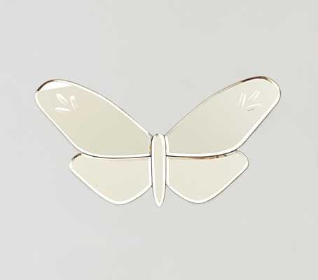 Butterfly Mirrors- Small Fluttering - Pottery Barn Kids