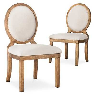 Morris Oval Back Dining Chair (Set of 2) - Neutral - Target