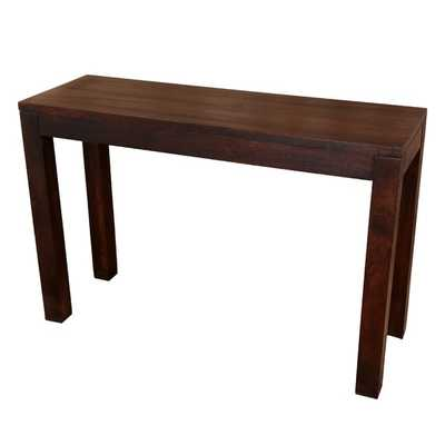 Porter Bengali Solid Mango Wood Console Table (India) - Overstock