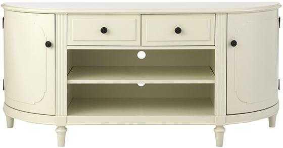 INGRID MEDIA CABINET - Ivory - Home Decorators