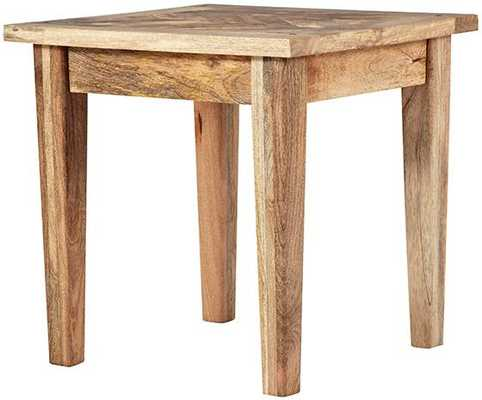 PARQUETRY END TABLE - Home Decorators