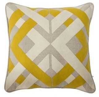 Trafico 18x18 Pillow, Yellow - One Kings Lane
