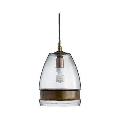 Morela Glass Pendant Light - Crate and Barrel