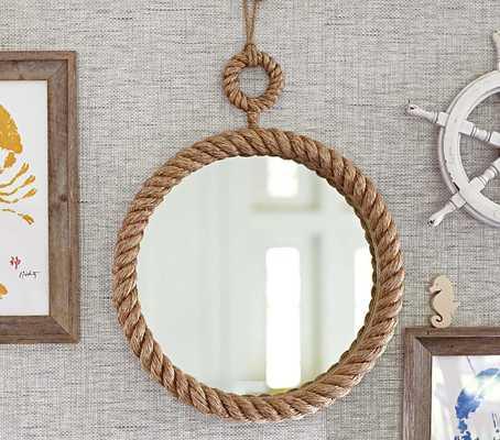 Nautical Rope Mirror - Pottery Barn Kids