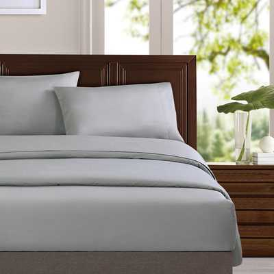 Organic Cotton Sateen Sheet Set - Full - Overstock