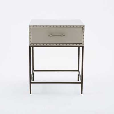 Nailhead Nightstand - West Elm