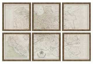 "Rome, Set of 6 - 13"" x 13"" - Framed - One Kings Lane"