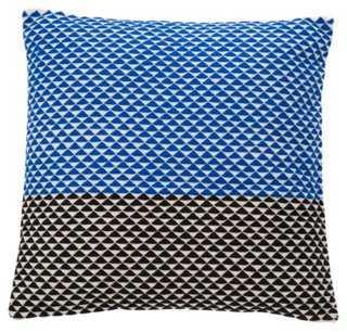 Triangle Cotton Pillow - One Kings Lane