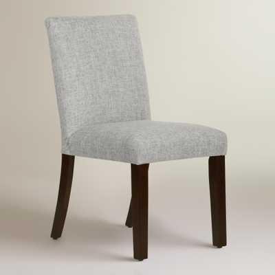 Linen Blend Kerri Upholstered Dining Chair - World Market/Cost Plus