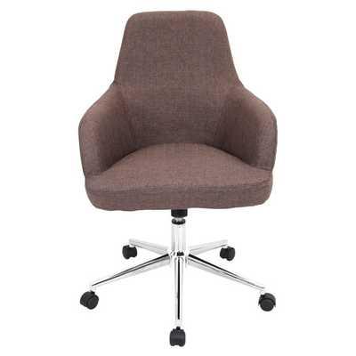 Degree Adjustable Mid-Back Office Chair - AllModern