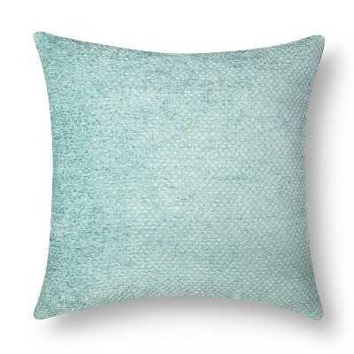 """Westfield Chenille Toss 18"""" x 18"""" Blue  Pillow - insert - Target"""