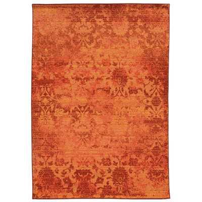 "Expressions Oriental Orange Area Rug - 9'9"" x 12'2"" - Wayfair"