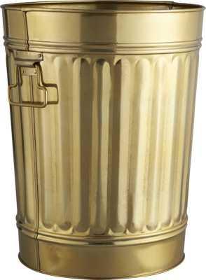 Gold wastecan - CB2