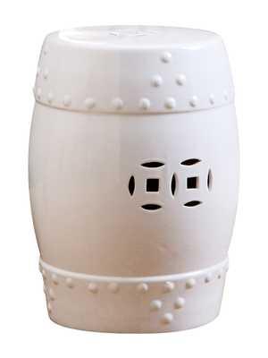Reyna Ceramic Garden Stool - gilt.com