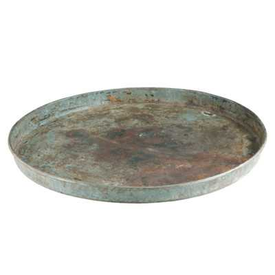 Iron Round Plate - Wayfair