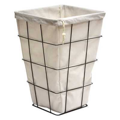"""Thresholdâ""""¢ Wire Laundry Hamper with Liner - Target"""