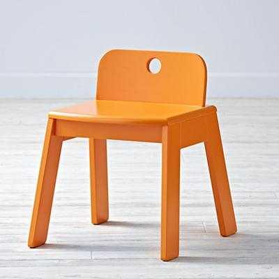 Mojo Play Chair (Orange) - Land of Nod