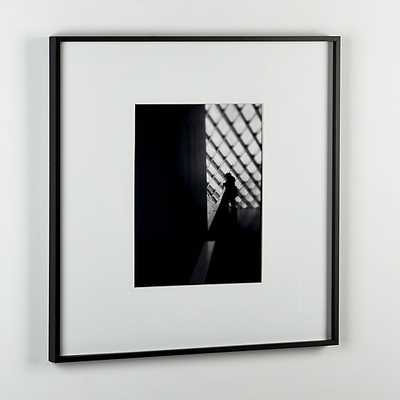 gallery black 11x14 picture frame. - CB2