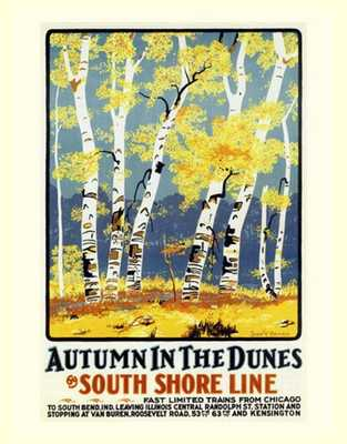 Autumn in the Dunes - Etsy