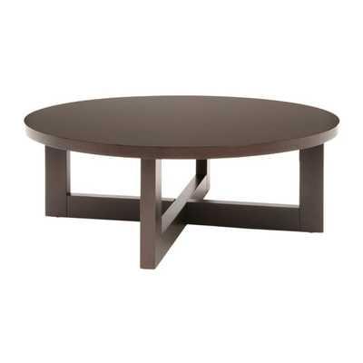 Regan Coffee Table - Mocha Walnut - AllModern