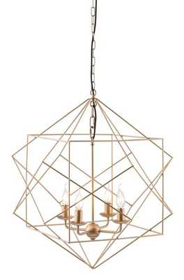 Penta Ceiling Lamp, Gold, Metal - House Bound